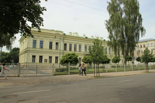 Komendanto rūmai Kaune (KPD Kauno skyriaus nuotr.)