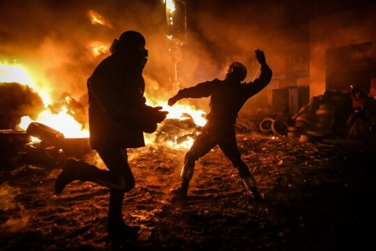 Vaizdai iš konflikto zonos