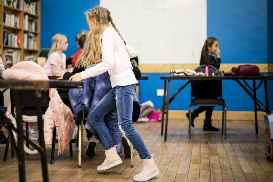 Šeštadieninė lietuviška mokyklėlė Monaghane