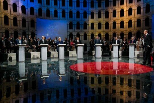 """Laidos """"Lietuvos Respublikos Prezidento rinkimai 2014"""" filmavimas"""
