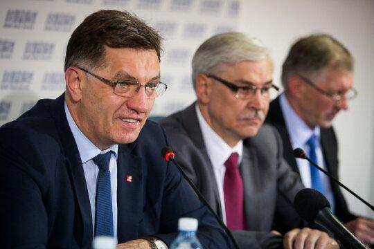 Algirdas Butkevičius, Zigmantas Balčytis, Gediminas Kirkilas