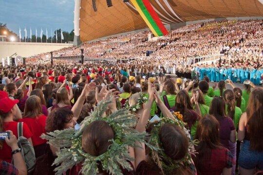 Dainuok, Lietuva, laisvę!