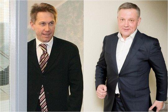Romanas Raulynaitis ir Eligijus Masiulis