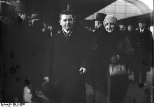 Augustinas Voldemaras, Matilda Voldemarienė