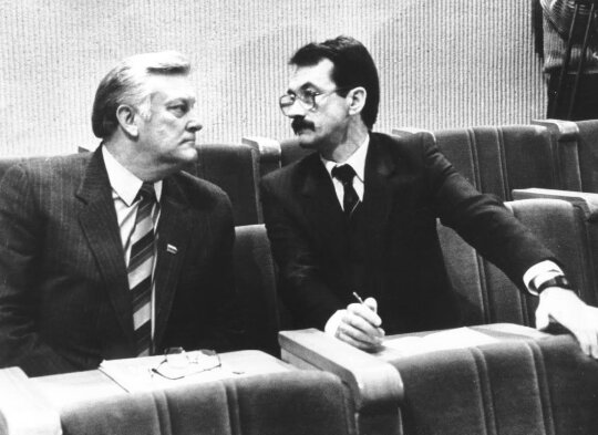 Algirdas Brazauskas, Romualdas Ozolas