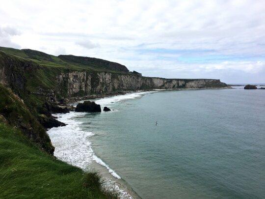 Lukas ir Kornelija keliauja po Šiaurės Airiją