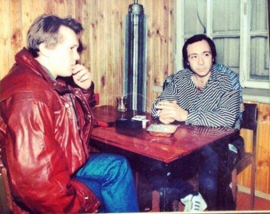 Ainis Gurevičius ir Borisas Dekanidzė