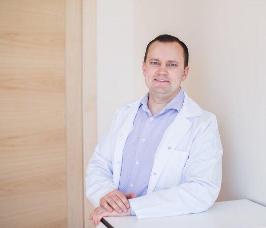 Urologas Mindaugas Danilevičius.