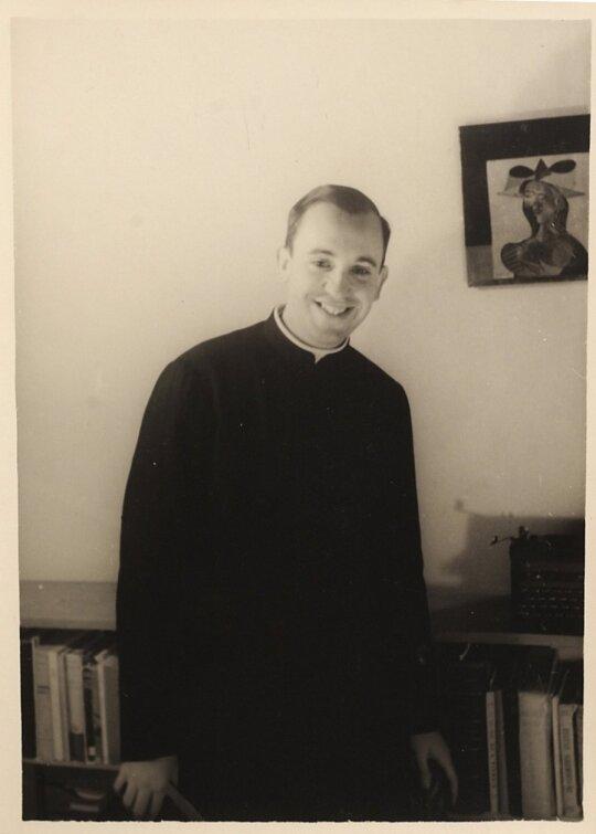 Popiežius Pranciškus jaunystėje
