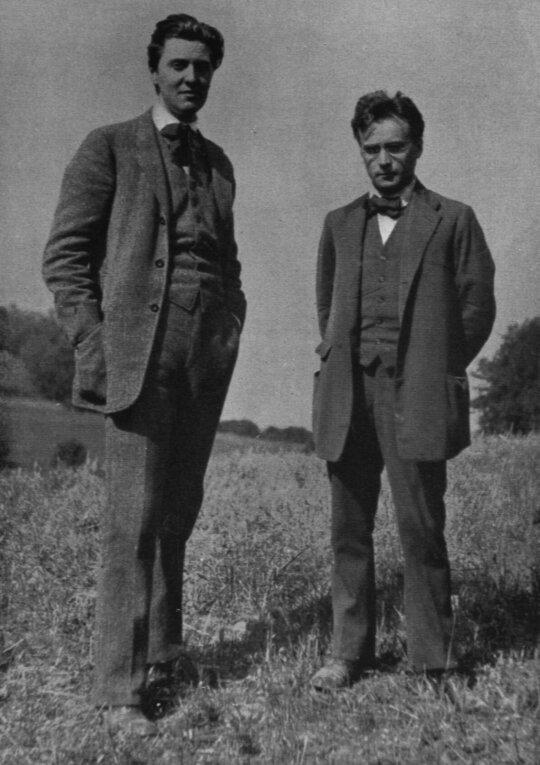 Albanas Bergas ir Antonas Webernas