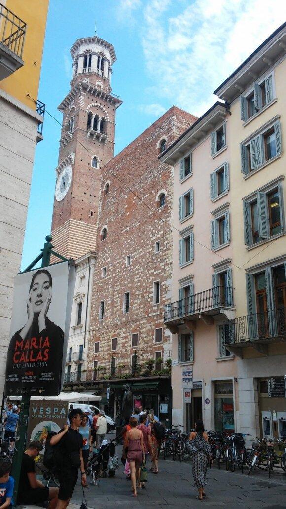 Marios Callas parodos plakatas