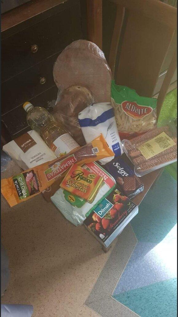 Sauso maisto daviniai vaikams