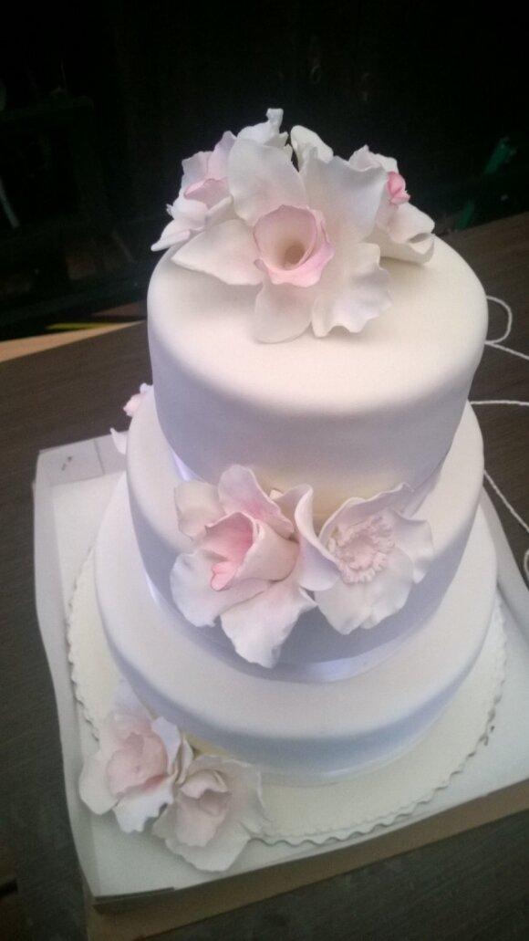 Pamatė užsakytą vestuvinį tortą ir pasibaisėjo – 120 eurų kaip į balą