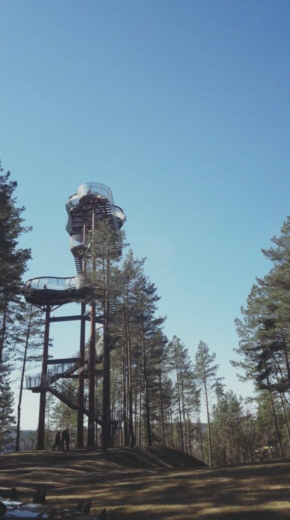 Daugiau nei 1000 lankytinų objektų Lietuvoje aplankęs Mantas rekomenduoja: gražiausiais vaizdais apdovanojantys apžvalgos bokštai