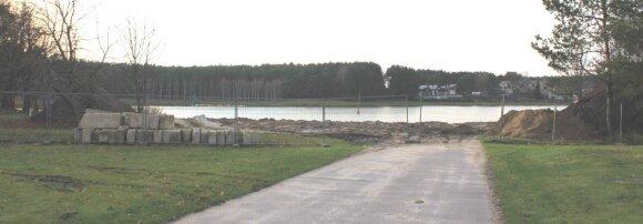 2012m. vasarą pradėti statybos darbai