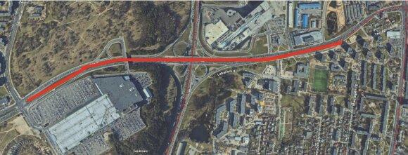 Vilniuje planuojama pertvarkyti Ozo gatvę