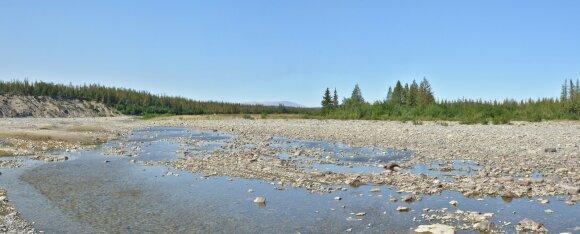Nusekusi Uralo upė