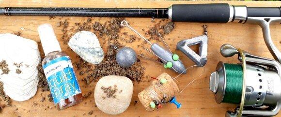 Žūklės jūroje įrankiai