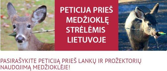 Bandoma įteisinti Lietuvoje seniai uždraustą medžioklės būdą
