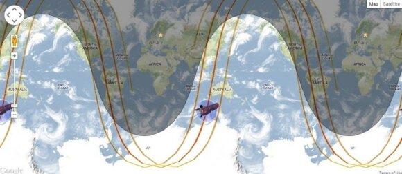 Europos kosmoso agentūros (ESA) misijos GOCE