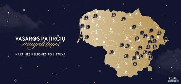 Žvaigždėlapis (Keliauk Lietuvoje nuotr.)