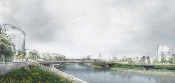 Žvejo tiltas // Lietuvos architektų sąjungos nuotr.