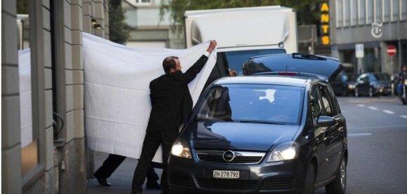 FIFA pareigūnų sulaikymo Ciuriche momentas