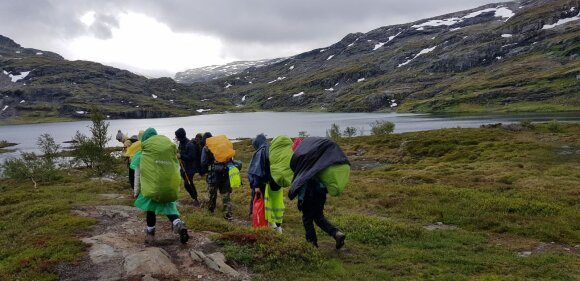 DofE Aukso žygis Norvegijos kalnuose
