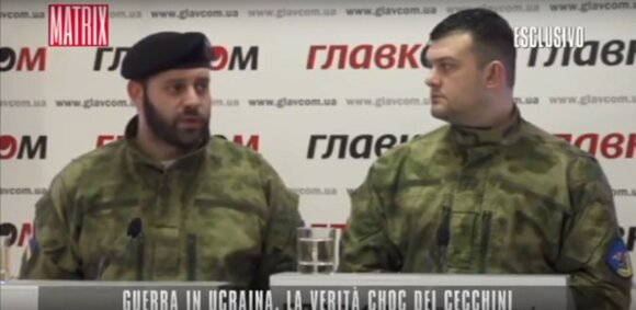"Dokumentinio filmo ""Ucraina, le verita nascoste"" kadras"