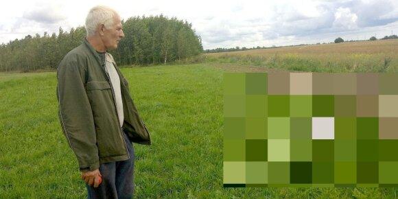 Ūkininkas Motiejus Šidlauskas