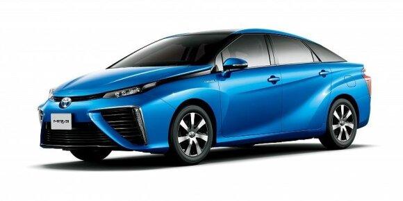 """""""Toyota"""" dalyvauja Tokijo olimpinėse žaidynėse tausodama aplinką"""