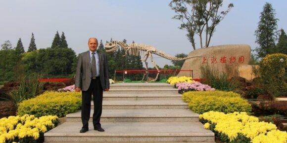 Neįtikėtina proga: vienas iš 5 Šanchajaus sodo kūrėjų - lietuvis