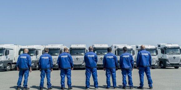 Vienos didžiausių transporto įmonių vadovas – apie vežėjų persikėlimą į Lenkiją: jei taip įvyks, emigruosime ir mes