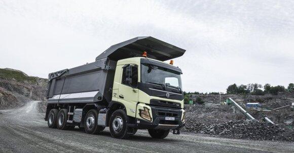 """""""Volvo Trucks"""" pristato naujos kartos sunkvežimius"""