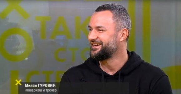 Milanas Gurovičius TV laidoje 2018-aisiais