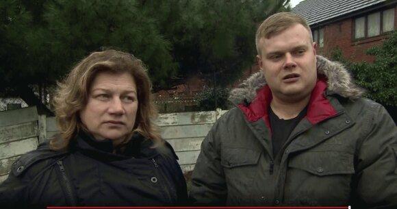 Rima ir Ovidijus Žvaliauskas, BBC stopkadras