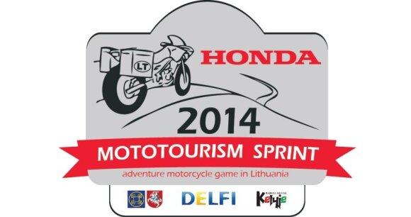 Mototurizmo sprintas 2014