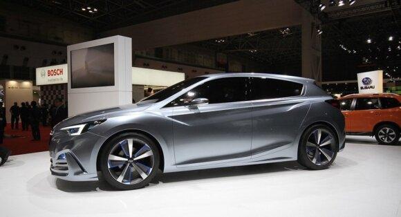 """""""Subaru Impreza"""" prototipas"""