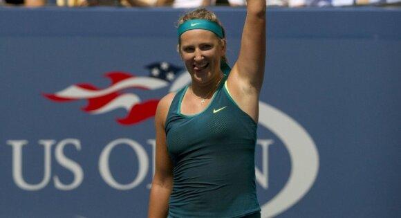 """""""US Open"""": amerikietis nuleipo nuo karščio, A. Murray išgyveno penkių setų dramą"""