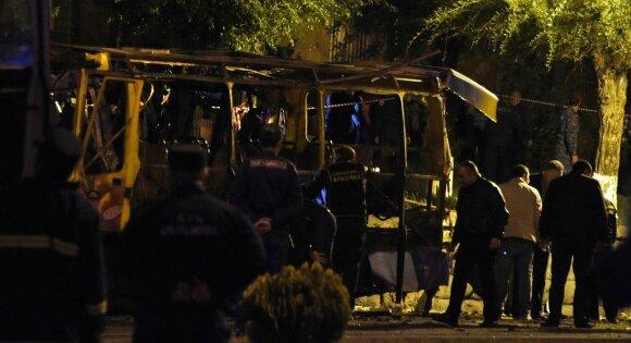 В Ереване в пассажирском автобусе взорвалась бомба: двое погибших