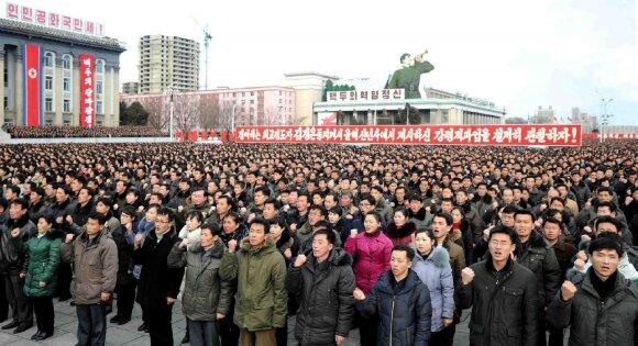 Šiaurės Korėja metė grėsmingą iššūkį D. Trumpui