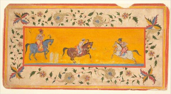 XVII a. manuskriptas iš Indijos, Metropoliteno meno muziejaus nuotr.