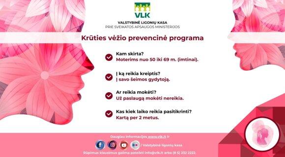 Krūties vėžio prevencinė programa