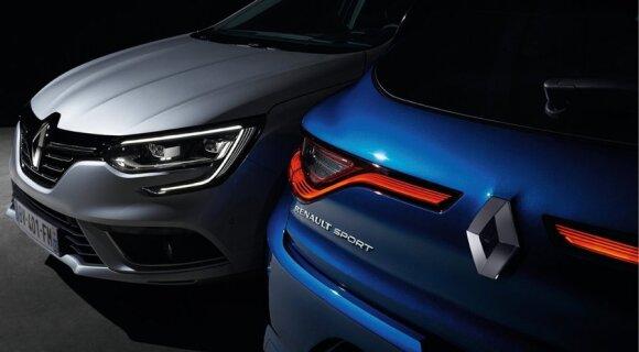 """Naujos kartos """"Renault Megane"""""""
