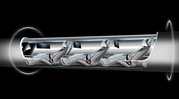 Hyperloop modelis