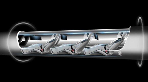 "Projektas ""The Hyperloop"""