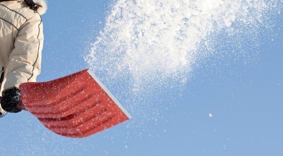 Sniego kasimas: kaip išsirinkti tinkamą įrankį