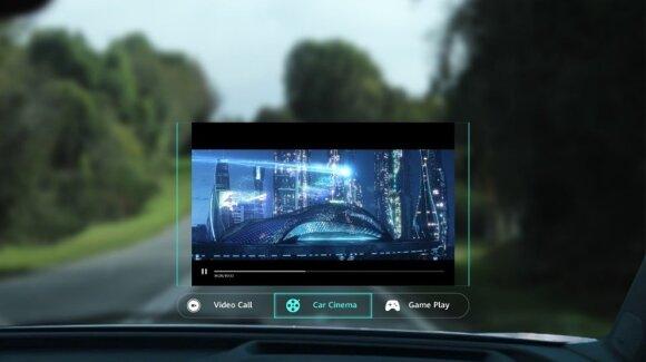 """""""Huawei"""" pristatė inovaciją automobiliams: net seniausią modelį gali paversti tikru gudruoliu"""