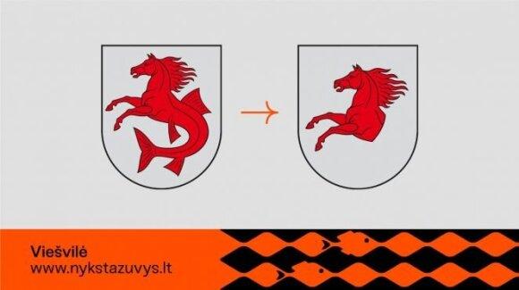 Viešvilės herbas