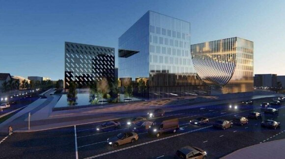 Naujo teismų pastato projektas sukėlė aršią visuomenės reakciją: gyventojai pageidauja, kad jis nebūtų statomas